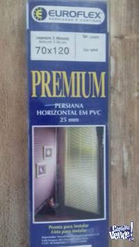 Persiana Euroflex Premium en PVC color Gris 70x1.20