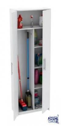 Organizador Escobero Maxi DIS-6 180*60*30 cm Color Blanco