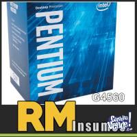 Micro procesador INTEL LGA1151 Pentium G4560 KABYLAKE CPU