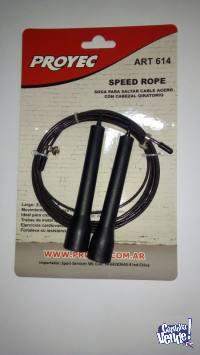 soga para salto cable de acero con cabezal giratorio proyec