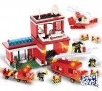 Blocky bomberos set más grande 290 piezas