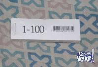 Liquido Talonarios De Numeros al 100 (6 en stock)