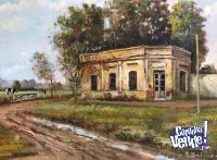 Cuadro original de Ruben Baima enmarcado Ideal Casa de Campo