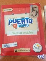 PUERTO A DIARIO 5 CIENCIAS SOCIALES CON LIBRO DE ACTIVIDADES