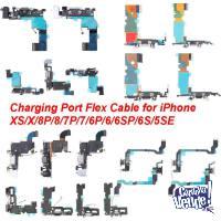 Flex pin carga iPhone 4 4s 5 5s 5se 6 6s plus - GARANTIA