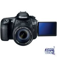 Canon 60d 18 55mm + 32gb impecable local a la calle