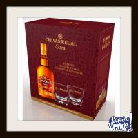 CHIVAS REGAL EXTRA (ESTUCHE CON 2 VASOS) - WHISKY - (750 ML)