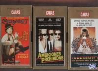 50 PELICULAS DE VHS DE CARAS ORO/PLATINO  $ 150c/u