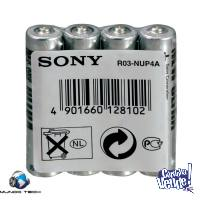 Pilas Aa Carbon Sony X4