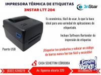 Impresora térmica Etiquetas código de barras 3nstar LTT 20