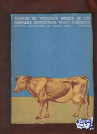 TRATADO DE PATOLOGIA DE ANIMALES DOMESTICOS 2 tomos $ 2200