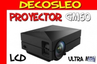 Proyector Tv Led Lcd Gm60 Full Hd Hdmi 1000 Lumens 30000 Hs