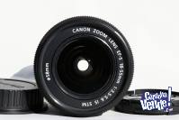 Canon EFS 18-55 F/ 3.5-5.6 IS STM NUEVO