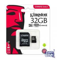 MEMORIA MICRO SD KINGSTON 32GB CLASE 10 EN BLISTER - LOCAL