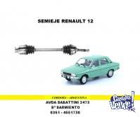 SEMIEJE RENAULT 12