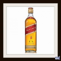 JOHNNIE WALKER (EN CAJA) - RED LABEL - WHISKY - (750 ML)