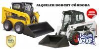 Alquiler Bobcat Minicargadoras Desmonte Limpieza Escombro