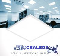 Panel Led 60x60 40w BLANCO FRIO  X10 /u Y POR MAYOR