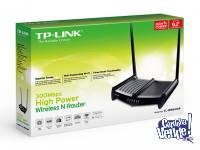 roter tplink 841 hp , high powewr antena 9 db