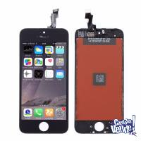 IPhone 5 5c 5s 6 6s 7 8 - Vidrio LCD Pantalla - Coloc 30m