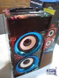 Parlante Portatil Wireless Music Wks-669b