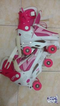 Patines de 4 ruedas - extensibles - Usados - Tipo rollers