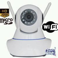 CAMARAS MOTORIZADAS IP WIFI 180 doble antena TIENEN AUDIO