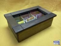 Caja de te 6 divisorios