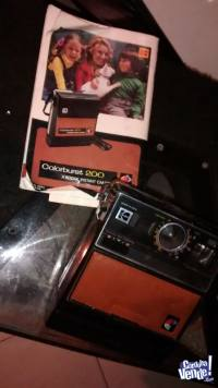 camara de fotografía antigua