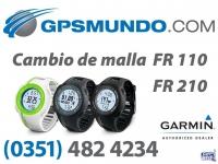 Cambio Malla Reloj Garmin Forerunner 110 210