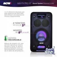 Parlante Portatil Bluetooth Bateria Usb Luces Con Control