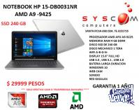PROMO NOTEBOOKS HP    EN STOCK