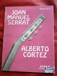 ALBERTO CORTEZ JOAN MANUEL SERRAT CANCIONERO