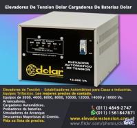 Comercializa estabilizadores de tensión Tfno. 011- 48492747
