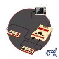 Consola Level Up Retro Playbox 8 Bits Family 60 Juegos Mario