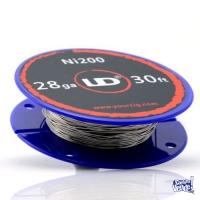 Cigarrillo Electronico Alambre Nickel Ni200 / 28 Ga 30ft Vapeo Resistencia