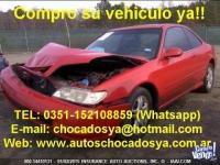 Compro Autos y Camionetas CHOCADAS