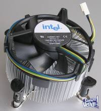COOLER 775 - 478 - AM2 - AM3 Originales INTEL y AMD