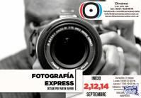 curso foto express (en estudio fotográfico)