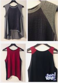 2 x Remeras Rie Mujer Talle 42