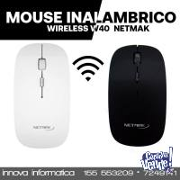 MOUSE NETMAK INALAMBRICO 1600 DPI NM