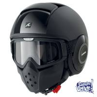 Casco Shark Raw Negro Mate Talle Xl