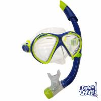 Set de Mascara y Snorkel Maverick Aqua Lung.