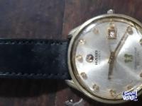 Reloj Rado antiguo a cuerda, bañado en oro