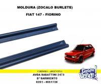 MOLDURA ZOCALO-BURLETE FIAT 147 - FIORINO