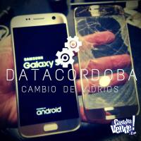 CAMBIO DE VIDRIO GLASS CELULAR SAMSUNG S8 DATACORDOBA