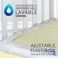 Funda Cubre Colchon Protector Impermeable Practicuna Lavable