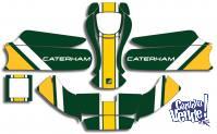 Kit Calcos Karting Caterham Laminado 3m Estandard