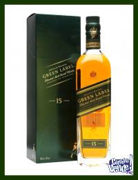 JOHNNIE WALKER - GREEN LABEL (CON CAJA) - WHISKY - (750 ML)