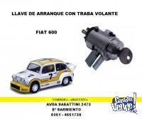 LLAVE DE CONTACTO Y ARRANQUE FIAT 600